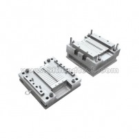 2 parts syringe plunger mould